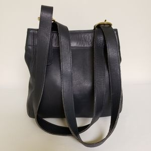 Coach Vintage Waverly Bucket Leather Tote